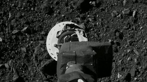 NASA Just Landed On An Asteroid - And Hopefully Scooped Up Material For The First Time In Its History