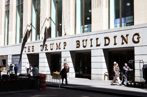 Another Tenant Wants Out Of Donald Trump's Wall Street Skyscraper