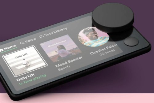 Spotify's 'Car Thing' Is An iPod Touch With A Big Knob And A Fatal Flaw
