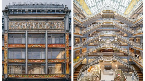 Inside La Samaritaine: Paris' Iconic Department Store Reopens After 16 Years