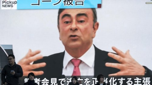 Japanese Prosecutors Indict Two Americans For Helping Former Nissan CEO Carlos Ghosn Escape