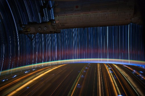 These Star Trails From The International Space Station Remind Us That We're All One World