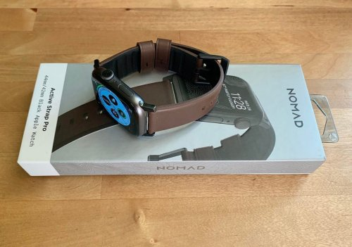 Nomad Active Strap Pro Review: High-Performance Waterproof Leather Band For Apple Watch