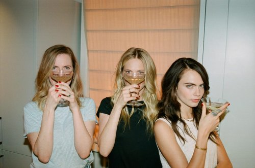 The Delevingne Sisters Take Their Name Literally And Launch A Business Through The Grape Vine