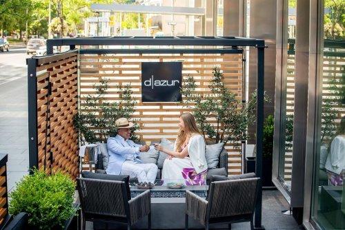 Four Seasons Hotel Toronto Introduces D|azur, The City's Newest Patio Destination
