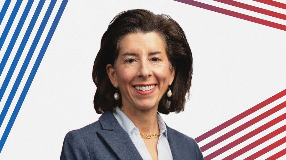 Here's How Much Commerce Secretary Gina Raimondo Is Worth
