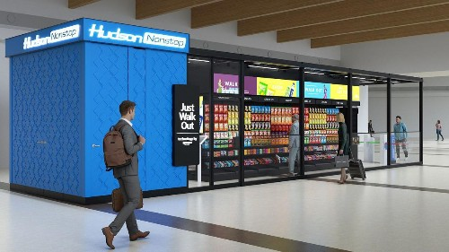 Hudson Creates New Store Concept Around Amazon's 'Just Walk Out' Technology
