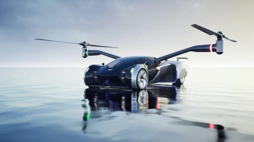 XPeng Unveils Supercar Helicopter Concept, More At Annual Tech Day