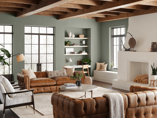 Sherwin-Williams' Color Of The Year 2022 Is The Calmest Green In Existence