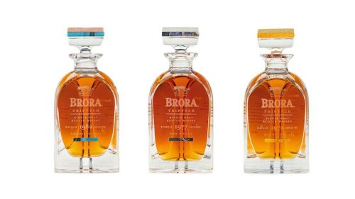 The Triptych Collection: Diageo Releases 3 Ultra Rare Brora Expressions For £30,000