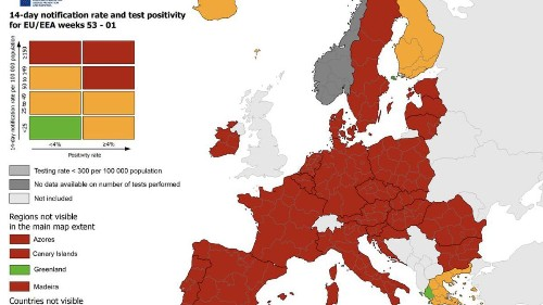 January EU Travel Restrictions By Country: Quarantine And Tests, As Covid-19 Third Wave Surges