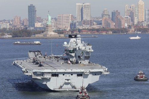 Does Britannia Rule The Waves Again? U.K. Carrier Strike Group Declared Operational