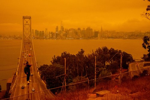The Science Behind Mysterious Orange Skies In California
