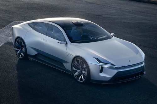 Polestar Is Putting Its Beautiful Precept Concept Into Production. Eventually