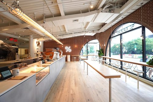 Smash Hit Japanese Café Brand %Arabica Opened Its First U.S. Location In Brooklyn
