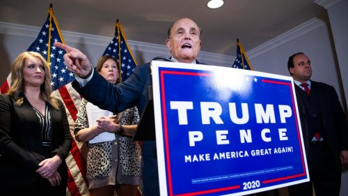 Trump Campaign Knew Dominion Fraud Claims Were False, Memo Reportedly Shows—But Giuliani Still Pushed Them