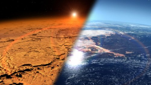 NASA's MAVEN Spacecraft Tracks Massive Water Loss From Ancient Mars