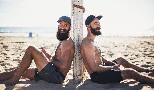 How The McKibbin Brothers Are Appealing To Both Sides With 4-Man Beach Volleyball Event