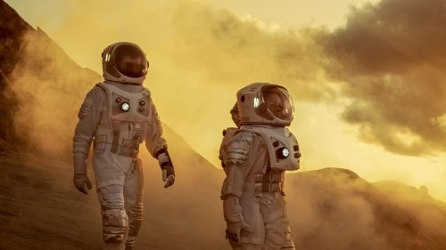 NASA Just Left For Mars. Here's How Many Humans Will Be Needed To Colonize The Red Planet