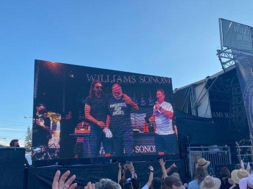 Jose Andres Wins BottleRock. Festivals Return, The Same But Different.
