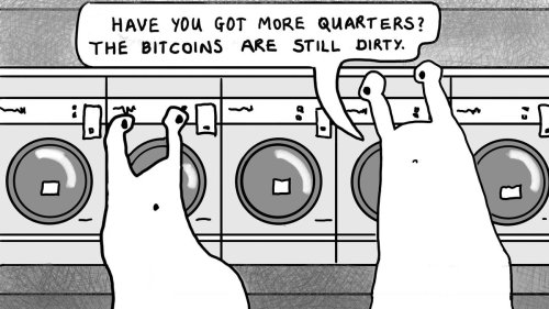 You Can't Launder Bitcoins!