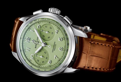 Breitling Launches New Heritage Premier With A Squad Of Founders