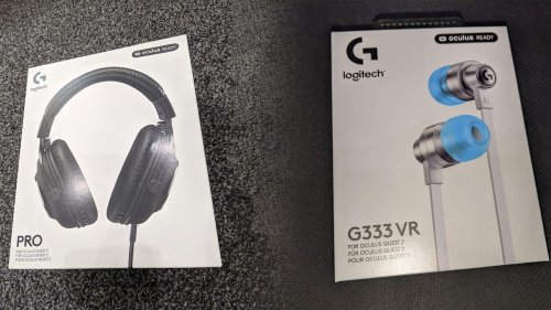 Are Logitech's G333 VR Earbuds And PRO Headset For Oculus Quest 2 Worth It For VR Players?