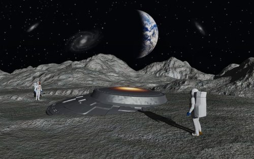 Revealed: Why We Should Look For Ancient Alien Spacecraft On The Moon, Mars And Mercury According To NASA Scientists