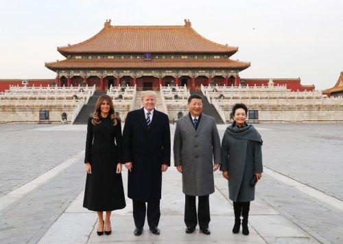 President Trump Trades Keys To Beijing's FOR-BIDEN City