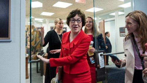 Susan Collins Says 'No Doubt' Trump Instigated Capitol Rioters
