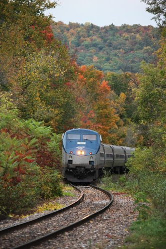 An Easy Way To Enjoy Fall Colors Throughout The U.S. — On Amtrak Scenic Routes