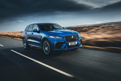 Jaguar F-Pace SVR (2021) Review: They Won't Make Them Like This Anymore