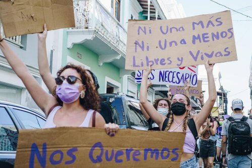 Women Of Puerto Rico Unite To Bring Justice To Victims Of Domestic Violence And Sexual Assault