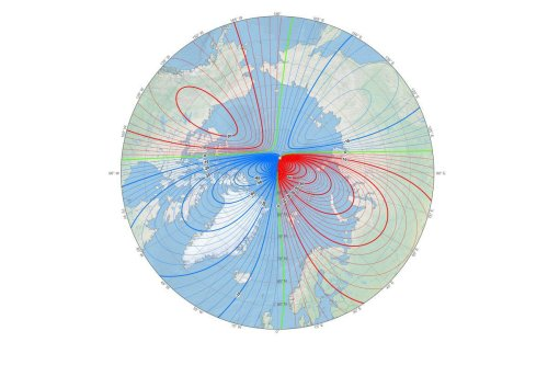 Earth's Magnetic North Pole Has Officially Moved