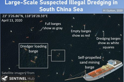 Satellites Show Scale Of Suspected Illegal Dredging In South China Sea
