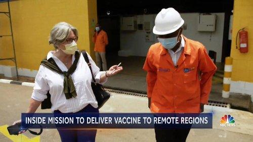 NBC's Cynthia McFadden Describes 'Truly Emotional' Mission To Bring Covid-19 Vaccine To Uganda