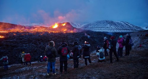 Iceland's Erupting Volcano Is For Sale And Offers Have Been Made