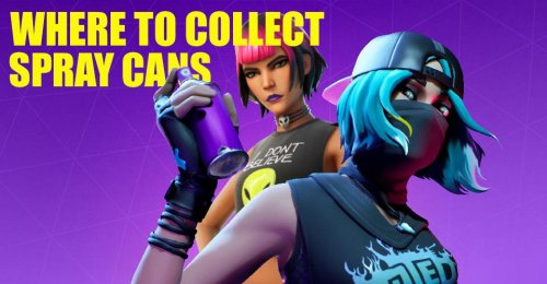 'Fortnite' Spray Can Locations: Where To Collect Spray Cans From Dirty Docks Or Pleasant Park