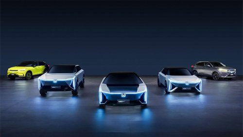 Honda's New Electric Cars For China Market Set Path To 100% EVs By 2040