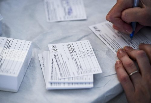 Fake Covid-19 Vaccination Record Cards Are A Growing Problem, Says FBI
