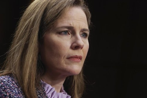 Democratic Lawmakers Demand Amy Coney Barrett Withdraw From Dark Money Case Involving Group That Backed Her Confirmation