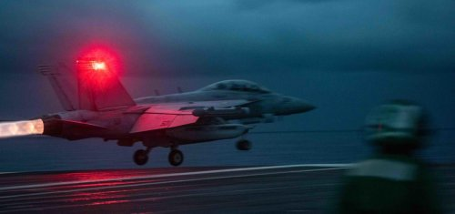 Welcoming Committee—Every Time an American Flattop Enters The South China Sea, Chinese Bombers Launch