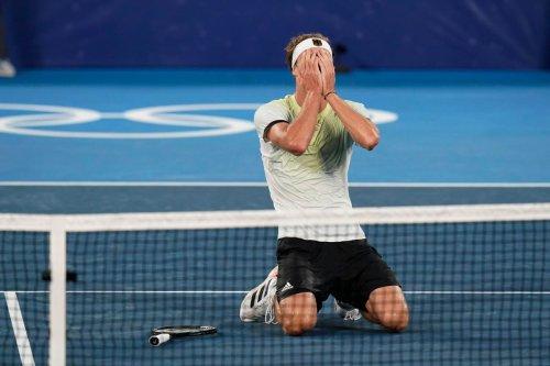 Sascha Zverev Follows Up Upset Of Novak Djokovic By Winning Gold Medal at Tokyo Olympics