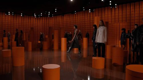 Hermes' AW21 Collection Ready-To-Wear Collection Travels Between New York, Paris And Shanghai, Using Movement As A Medium To Reveal The Collection