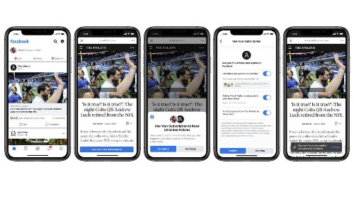 Facebook's News Subscription Challenges Apple News+, Threatens Flipboard And Google's Coming News Product
