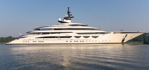 Exclusive Photos: 376-Foot-Long Ferrari-Supercar-Inspired-Superyacht Debuts In Europe