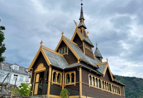The Stunning Norse-Inspired English Church Of Balestrand, Norway