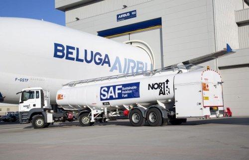 Airbus' Iconic Beluga Oversize Cargo Planes Fly On Sustainable Aviation Fuel