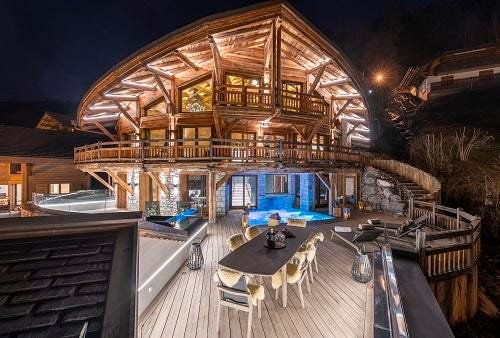 3 New Luxury Ski Chalets In The Alps