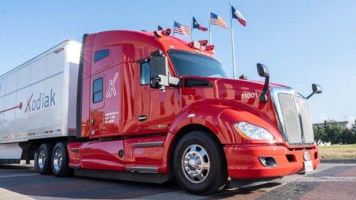 Robot Truck Startup Kodiak Adds Bridgestone As Investor And Will Use Its Smart Tire Tech